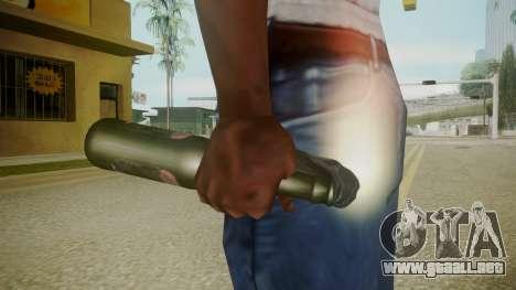Atmosphere Molotov Cocktail v4.3 para GTA San Andreas tercera pantalla