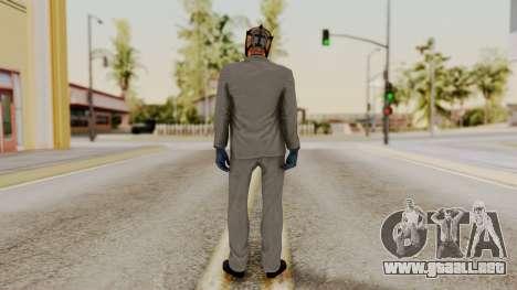 Payday 2 Sokol para GTA San Andreas tercera pantalla