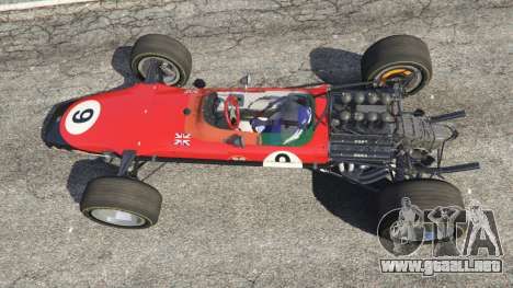 Lotus 49 1967 [no ailerons] para GTA 5