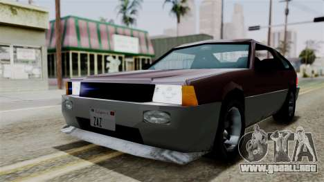 Blista Compact from Vice City Stories para GTA San Andreas