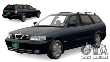 Daewoo Nubira I Spagon 1.8 DOHC 1998 para GTA 4