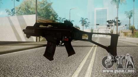 G36C para GTA San Andreas segunda pantalla