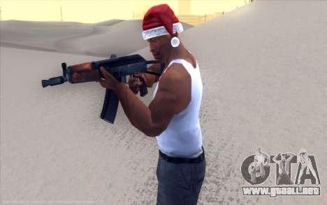 Realistic Weapons Pack para GTA San Andreas sucesivamente de pantalla