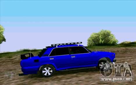 VAZ 2107 de Optimización para GTA San Andreas left