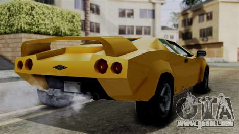 Infernus from Vice City Stories para la visión correcta GTA San Andreas