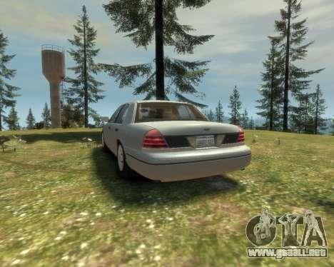 2003 Ford Crown Victoria para GTA 4 visión correcta