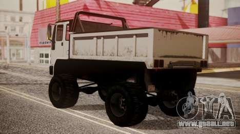 DFT Monster Truck 30 para GTA San Andreas left