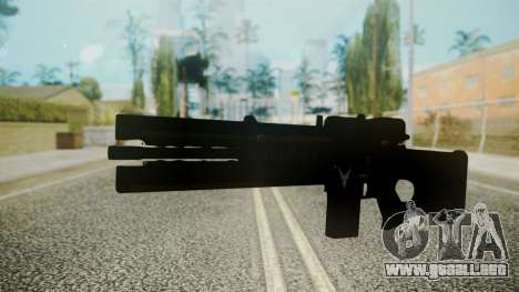 VXA-RG105 Railgun with Stripes para GTA San Andreas segunda pantalla