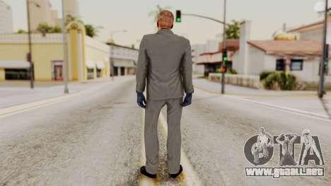 Payday 2 Sokol No Mask para GTA San Andreas tercera pantalla
