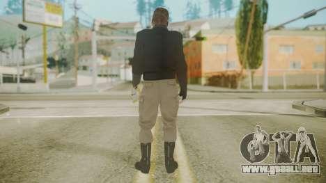 Venom Snake [Jacket] Stun Arm para GTA San Andreas tercera pantalla