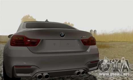 BMW M4 F82 para la visión correcta GTA San Andreas
