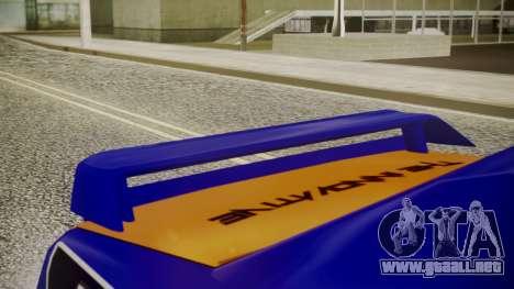Elegy NR32 with Neon Exclusive PJ para la visión correcta GTA San Andreas