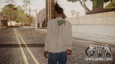 Sprunk Sweater Gray para GTA San Andreas tercera pantalla