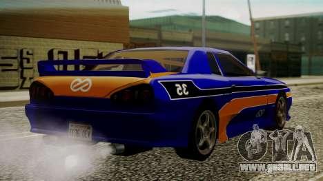 Elegy NR32 with Neon Exclusive PJ para GTA San Andreas left