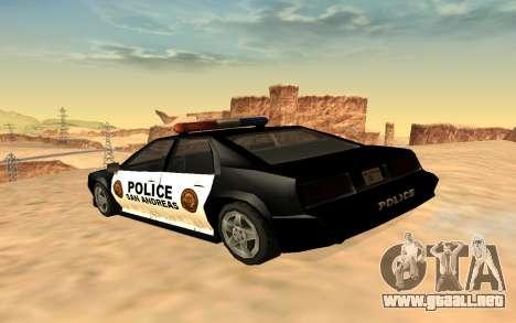 Cuatro de la policía de Buffalo para GTA San Andreas left