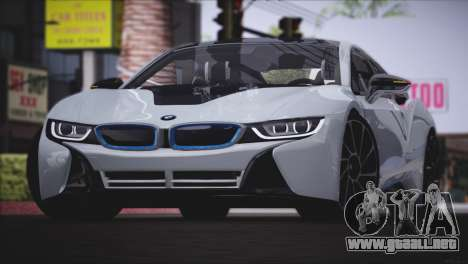 BMW i8 Coupe 2015 para GTA San Andreas left
