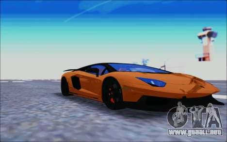 Lamborghini Aventador MV.1 [IVF] para GTA San Andreas left