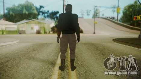 Venom Snake [Jacket] para GTA San Andreas tercera pantalla