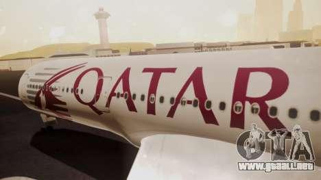 Airbus 350-900XWB Qatar Launch Customer para la visión correcta GTA San Andreas