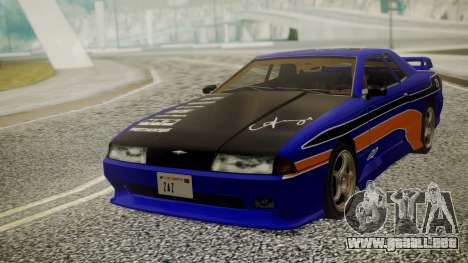 Elegy NR32 without Neon Exclusive PJ para GTA San Andreas vista hacia atrás