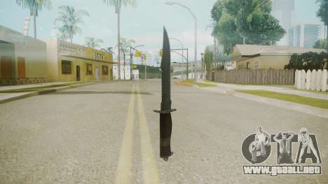 Atmosphere Knife v4.3 para GTA San Andreas segunda pantalla