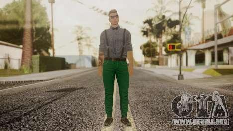 GTA Online Skin Hipster para GTA San Andreas segunda pantalla