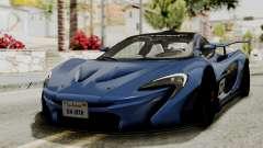 McLaren P1 GTR v1.0 para GTA San Andreas