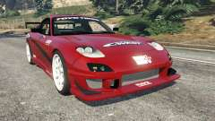 Mazda RX-7 C-West v1.0 para GTA 5