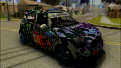 Mini Cooper Gymkhana 6 with Drift Handling para GTA San Andreas
