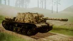 ISU-152 Panther Desert from World of Tanks para GTA San Andreas