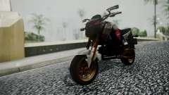 Honda MSX 125C Khmer para GTA San Andreas