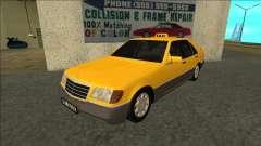 Mercedes-Benz W140 500SE Taxi 1992