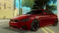 BMW M4 Coupe 2015 para GTA San Andreas