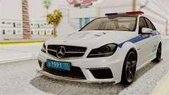 Mercedes-Benz C63 AMG STSI el Ministerio de Asuntos internos para GTA San Andreas
