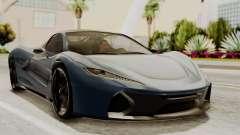 Citric Progen T20 para GTA San Andreas