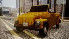 Volkswagen Safari Type 181 para GTA San Andreas