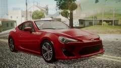 Toyota GT86 2012 LQ para GTA San Andreas