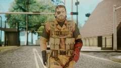 Venom Snake Golden Tiger para GTA San Andreas