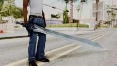 Katana from RE6 para GTA San Andreas