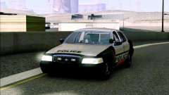 Weathersfield Police Crown Victoria para GTA San Andreas