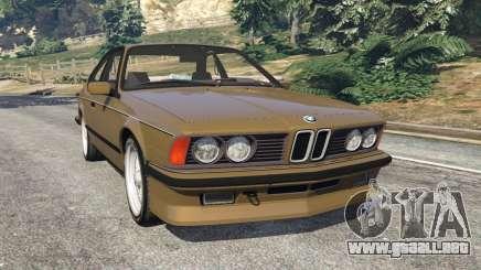 BMW M635 CSI (E24) 1986 para GTA 5