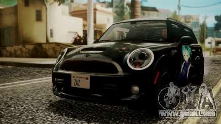 Mini Cooper Clubman 2011 Hatsune Miku Itasha para GTA San Andreas