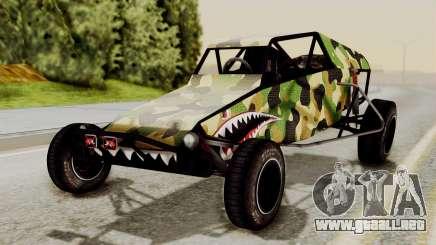 Buggy Camo Shark Mouth para GTA San Andreas
