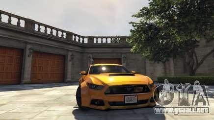 Ford Mustang GT RocketB & Wide Body para GTA 5