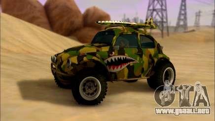 Volkswagen Baja Buggy Camo Shark Mouth para GTA San Andreas
