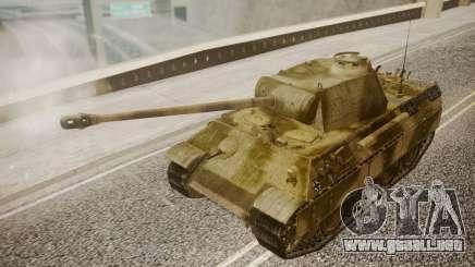 Panzerkampfwagen V Ausf. A Panther para GTA San Andreas