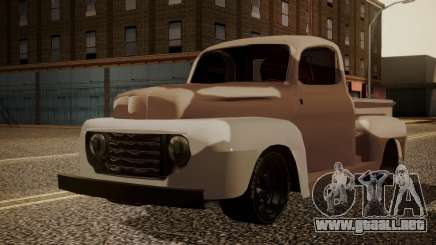 Ford F-100 1948 Simple Black Edition para GTA San Andreas