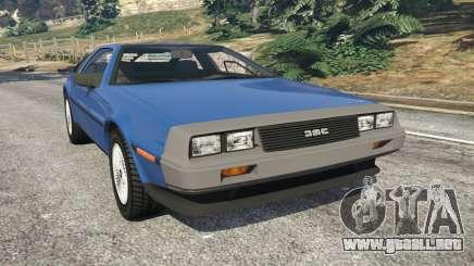 DeLorean DMC-12 v1.1 para GTA 5