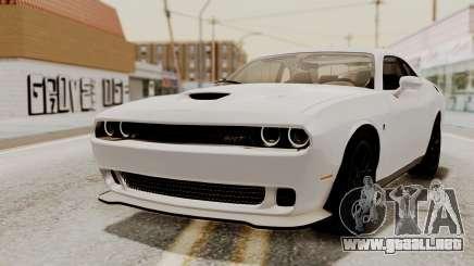 Dodge Challenger SRT Hellcat 2015 HQLM PJ para GTA San Andreas