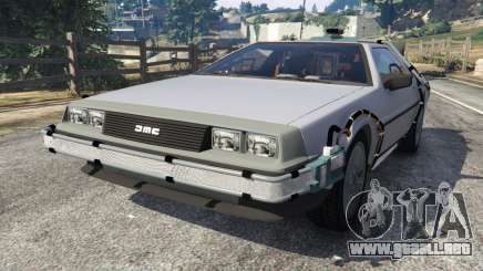 DeLorean DMC-12 Back To The Future v0.4 para GTA 5